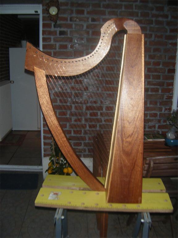 Harpe portative 23 cordes Harpe